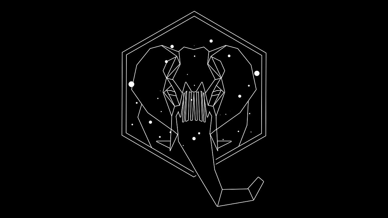 线条动物星辰系列