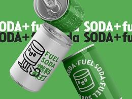 soda+燃料苏打|饮品品牌设计