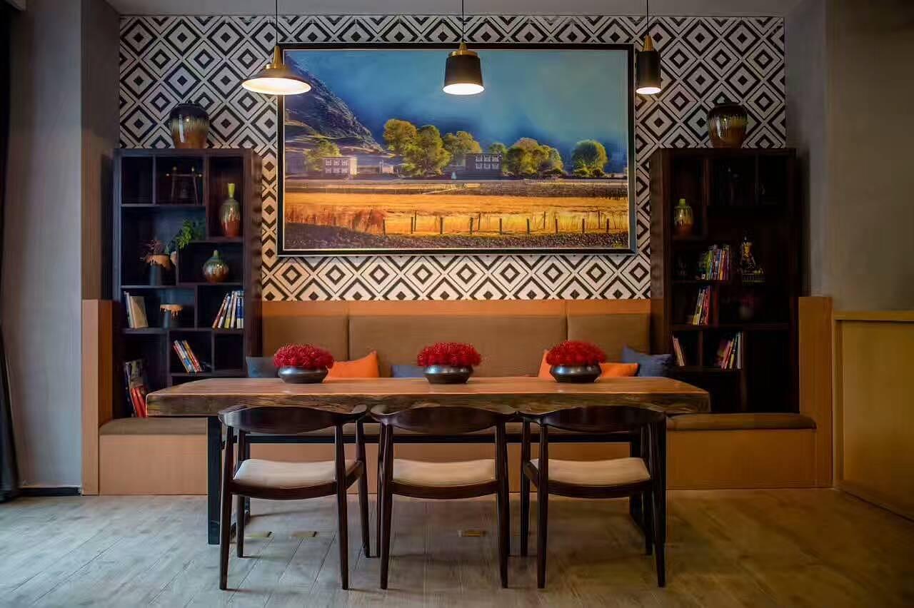 藏式主题民宿酒店—成都民宿设计|度假酒店设计|主题酒店设计|精品图片