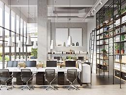 绿植绿化办公室设计