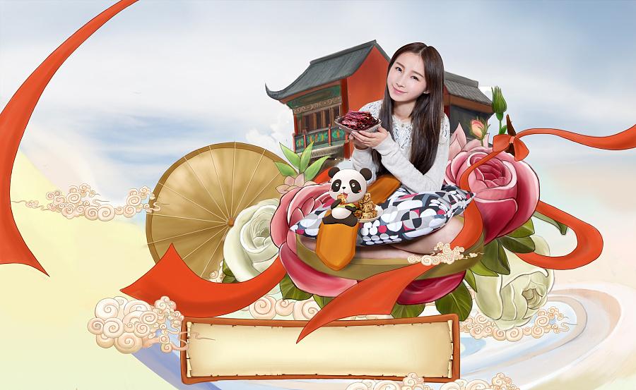 8节手绘海报|banner/广告图|网页|七月陌白
