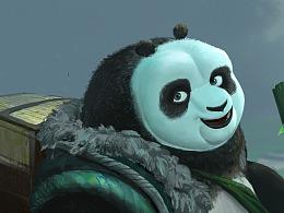 功夫熊貓畫的IP