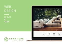 Silvia Home Web Design