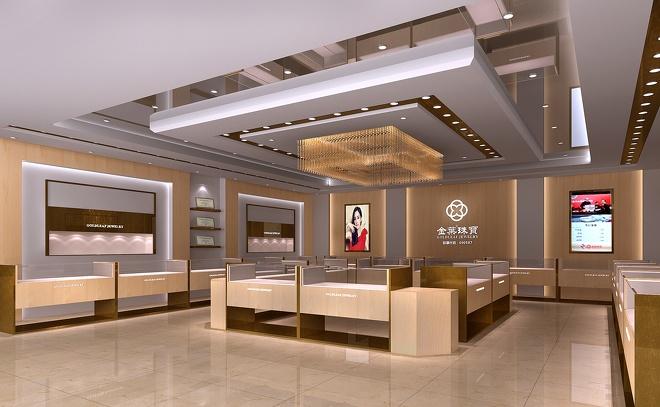 金帝珠宝店-成都珠宝店设计,成都珠宝店设计公如何私活接3d设计图片