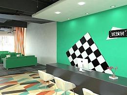 室内设计学员3dmax工装效果图作品展示