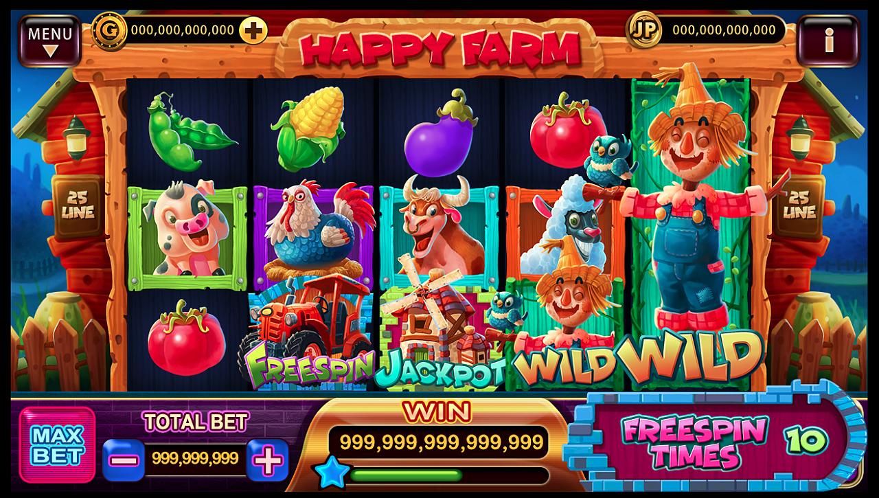 『快乐农场slot』电玩游戏美术设计