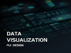 FUI大屏设计-能源云大数据平台