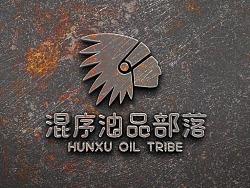 油部落标志优化升级更新LOGO-印第安酋长头像人物 by 简创设计