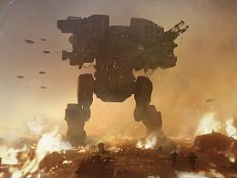 《机器人场景》