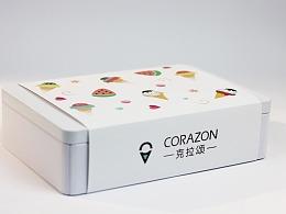 冰淇淋蛋筒&西瓜饼干产品包装、产品设计以及摄影