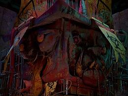 十八重艺术跨界画廊 | 狗之地狱