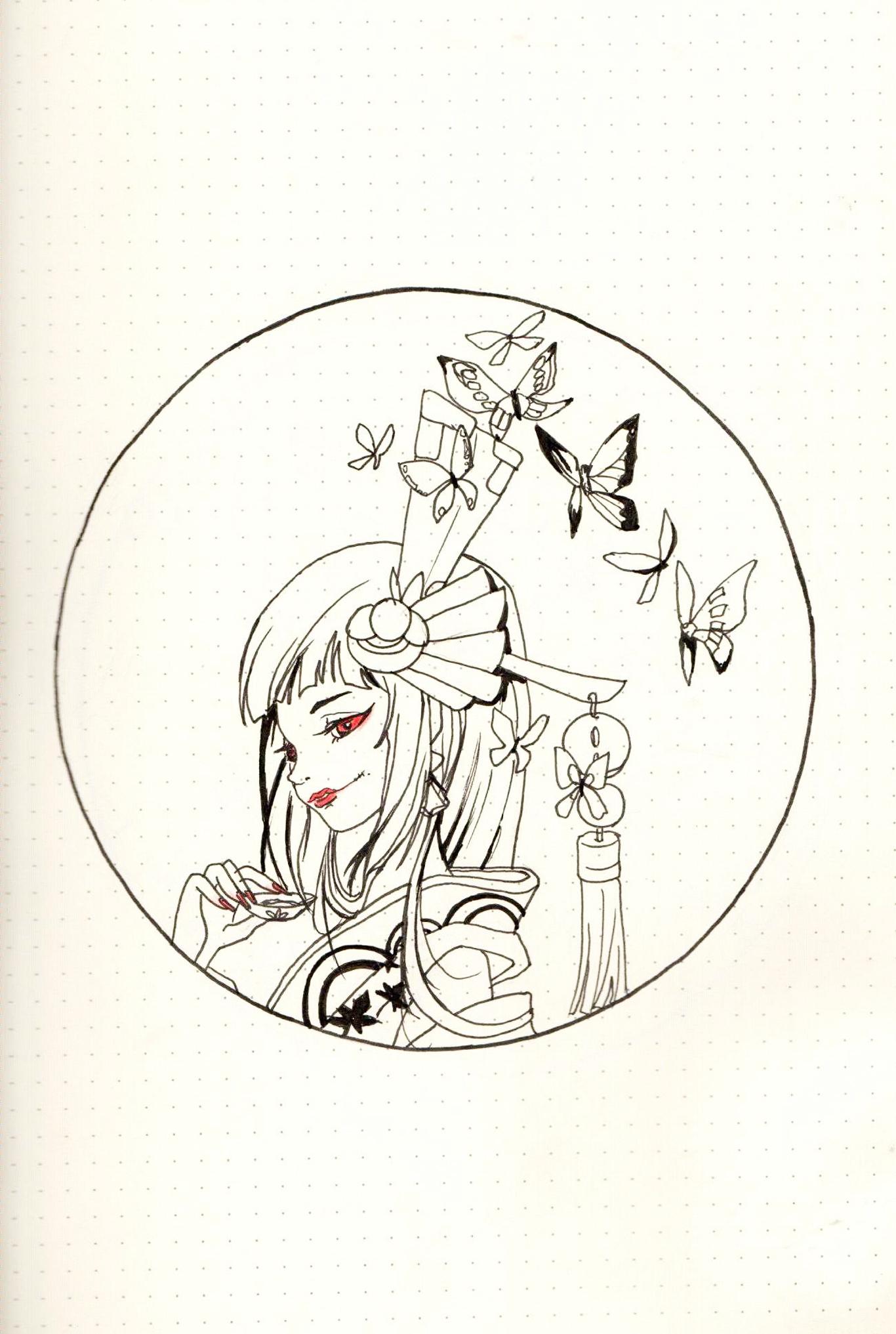 手绘阴阳师