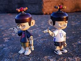 潮流玩具《P-pet》做旧治愈系列第一弹