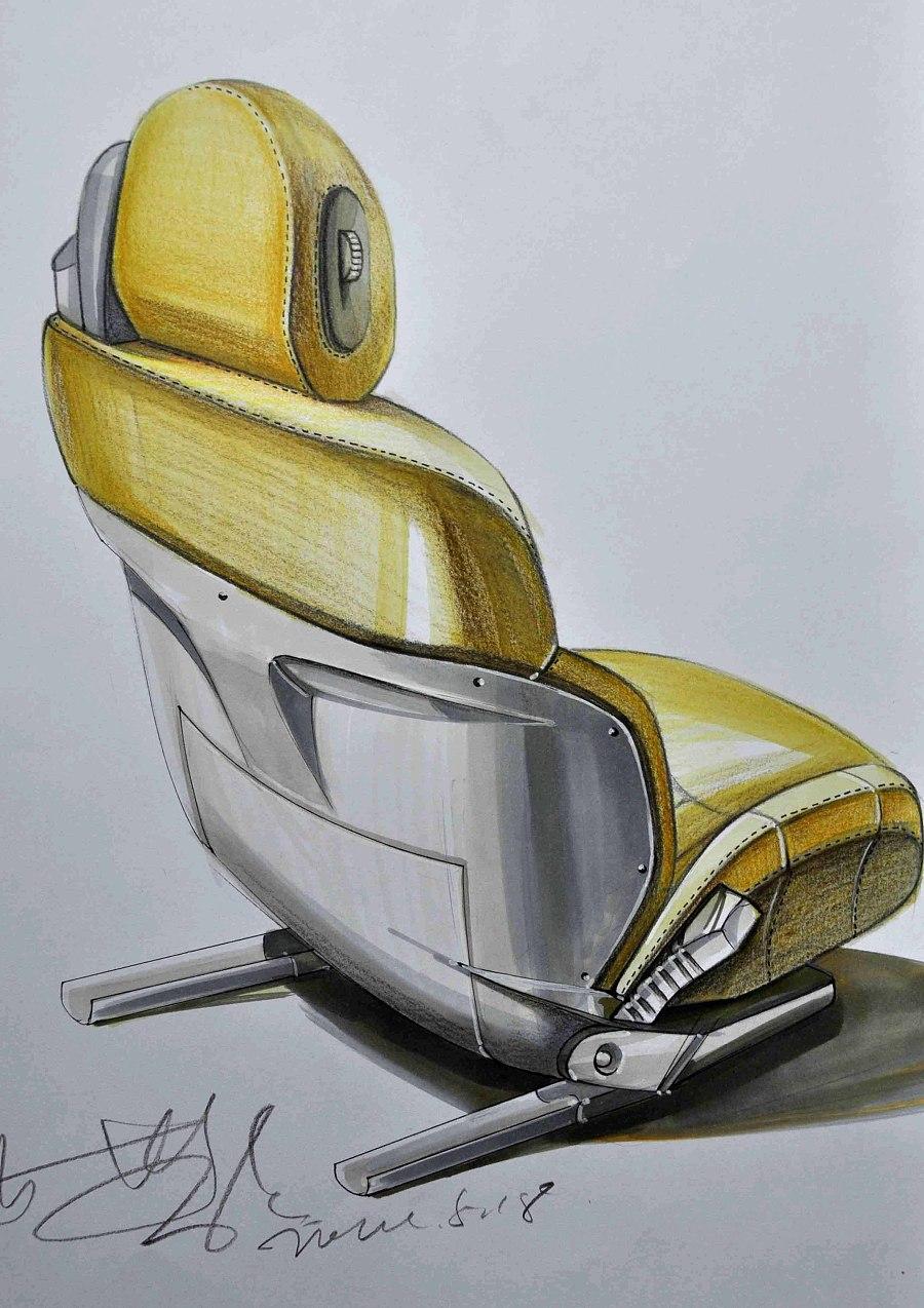 工业产品手绘效果图|交通工具|工业/产品|lgc刘光超