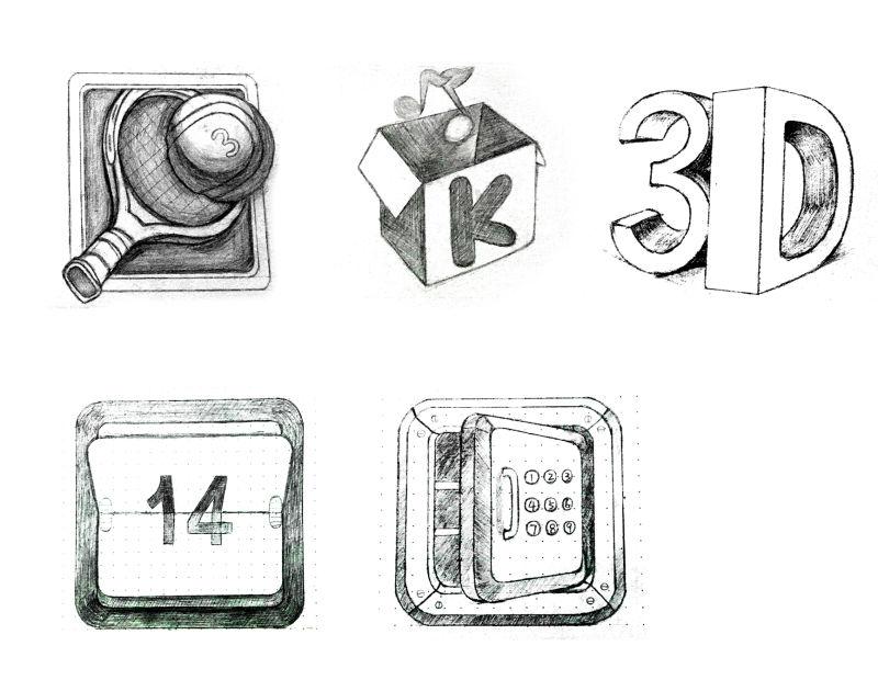手绘图标|图标|ui|细牙 - 原创设计作品 - 站酷