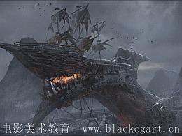 黑焰第27期学员作品—怪物设计