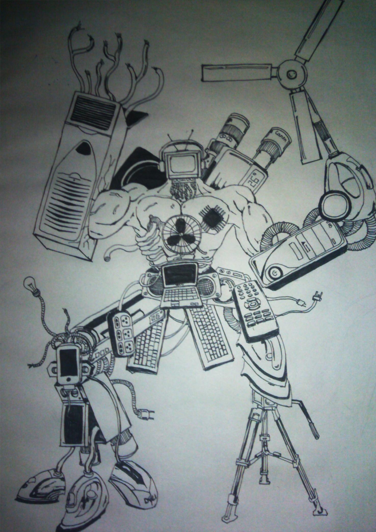 家用电器 机器人