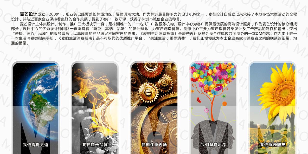 麦芒设计2011年8月宣传单|平面|海报|麦芒之星 - 原创