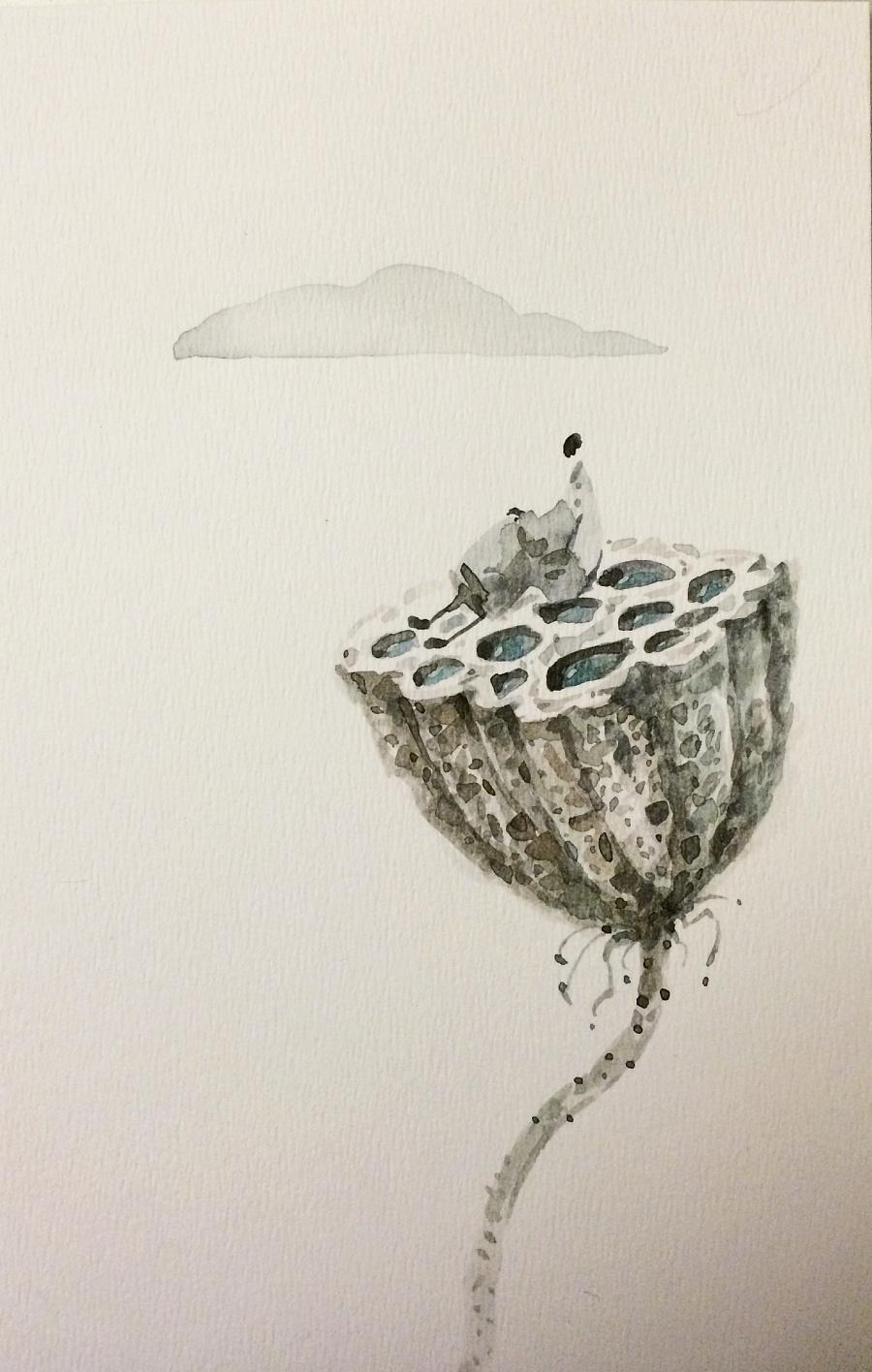 查看《吉祥物语插画日记【三十二】之水彩明信片》原图,原图尺寸:1467x2308