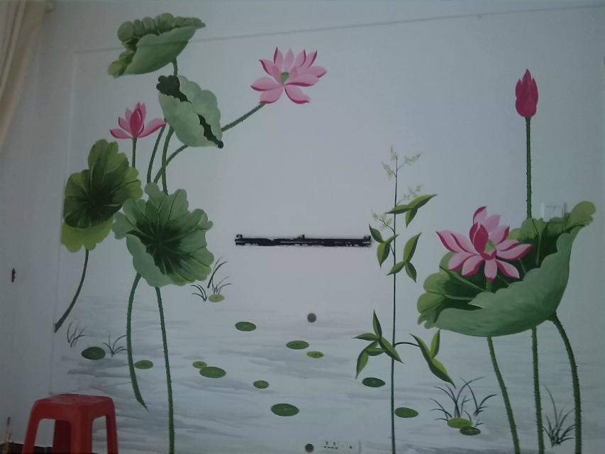 六安墙绘 六安手绘墙 六安壁画 六安彩绘 ====》卡尔壁画出品