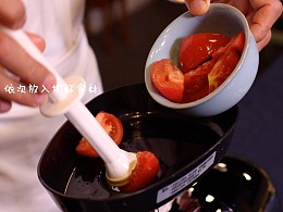 食养频道创意水果 第二十季 茄子番茄汁