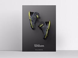 产品摄影 | Wilson专业网球装备 ins 风产品型录