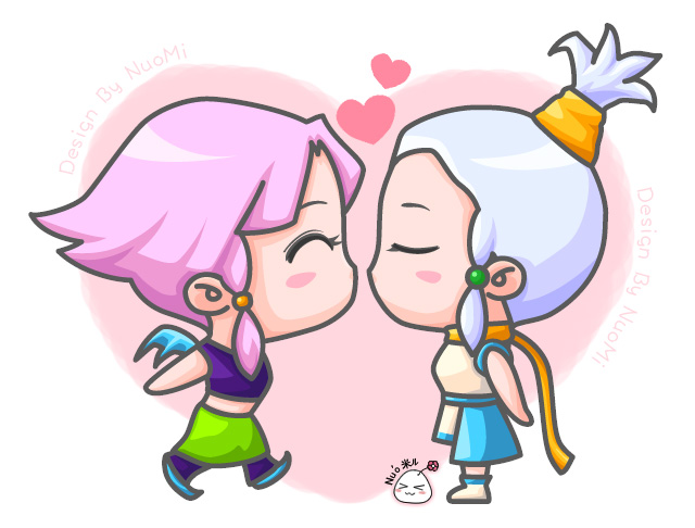 梦幻西游人物 卡通原创设计|其他绘画|插画|糯米