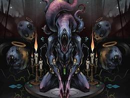 祈祷的夜吼者-奈亚拉托提普