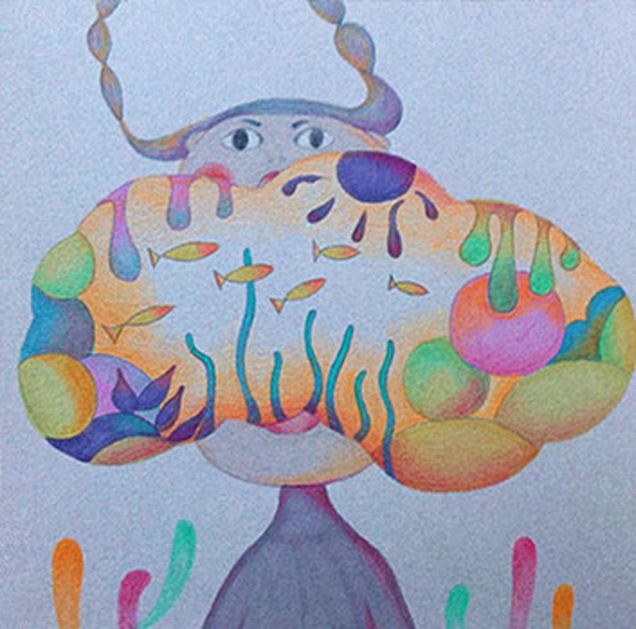 春夏秋冬|插画习作|插画|迷路的麋鹿鹿 - 原创设计图片