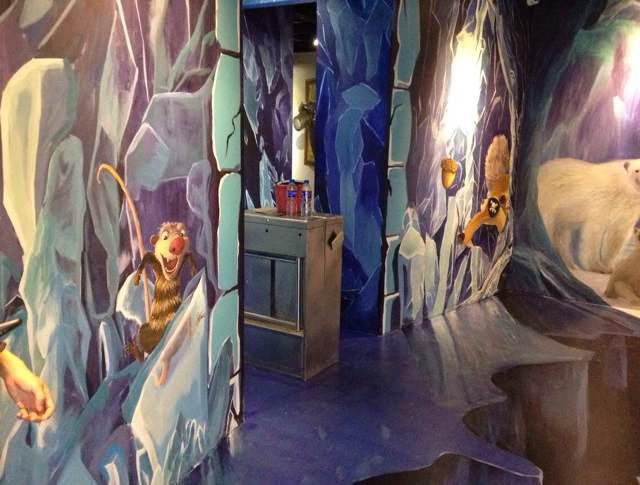3d墙体手绘