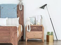 童眠床头柜