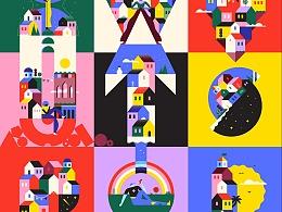 Lorena-G为Adobe打造视觉设计