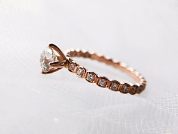 梵尼洛芙钻戒设计   从几千年前穿越而来的美学符号