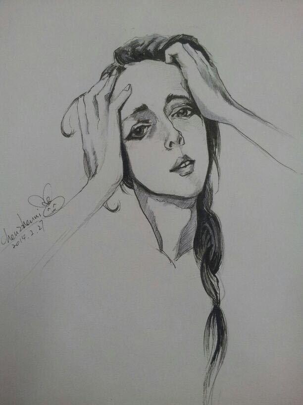 手绘作品|插画|插画习作|黛拉的炸弹 - 原创作品