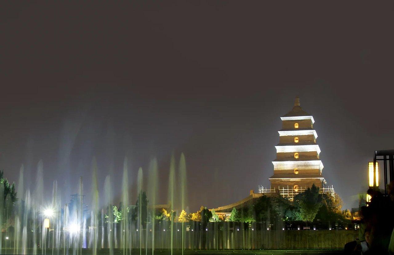 西安 重庆夜拍 大雁塔 洪崖洞 长江大桥 夜景