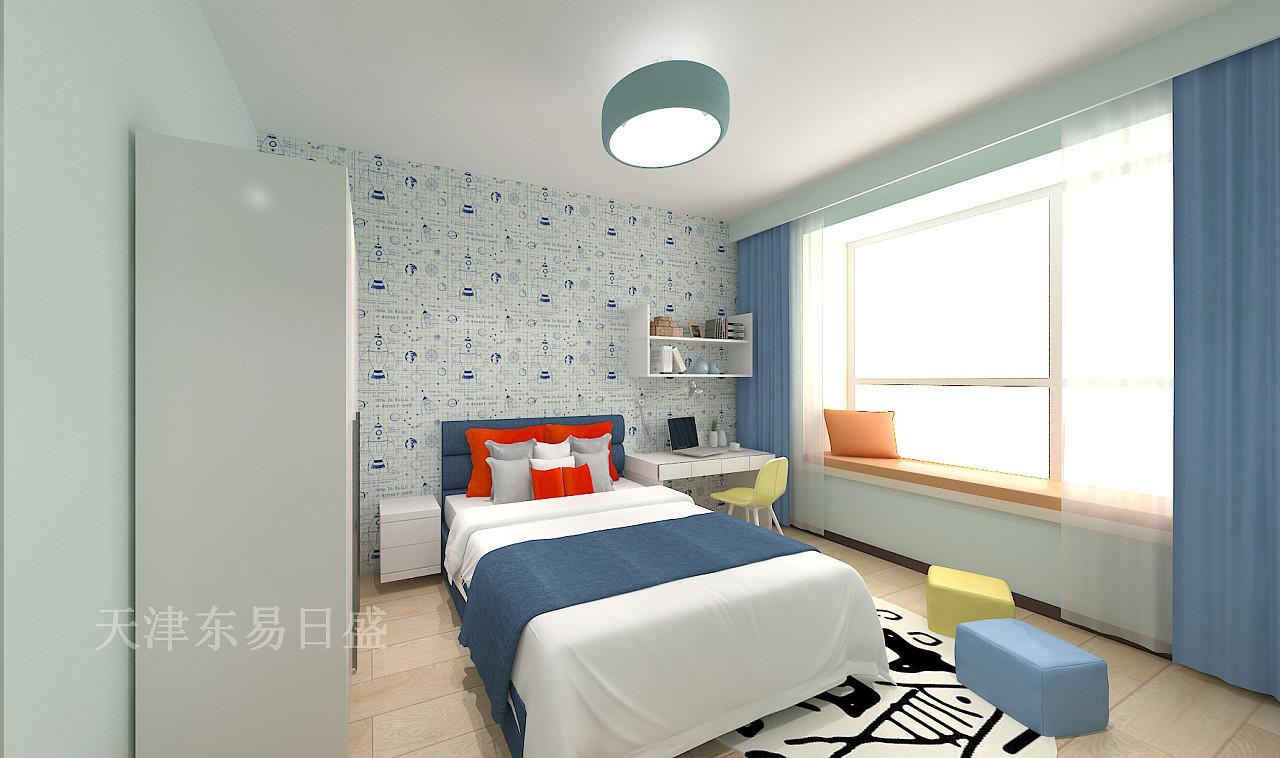 中央学府现代简约风格儿童房装修效果图
