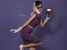 苏阁鲜茶/紫色葡萄