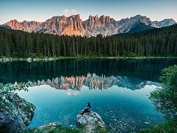 阿尔卑斯山脉最美的多洛米蒂风光