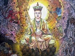 《南门大愿地藏王菩萨》