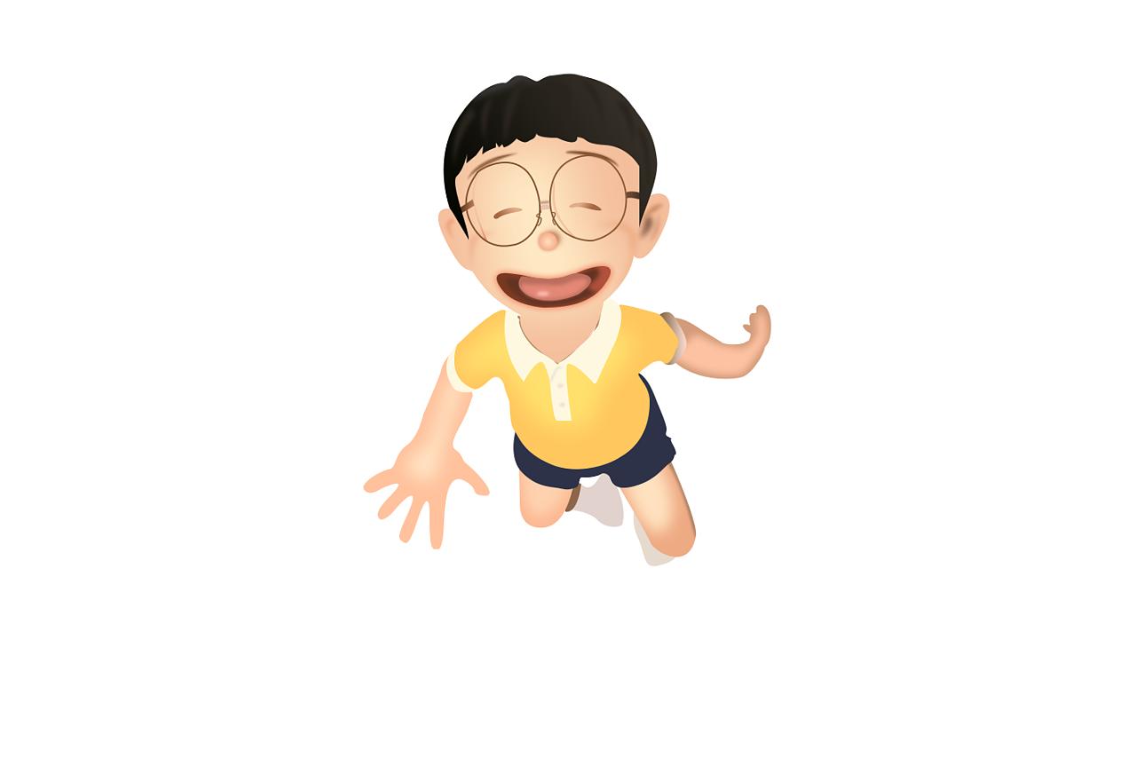卡通人物 动漫 单幅漫画 jimi阳光 - 原创作品 - 站酷