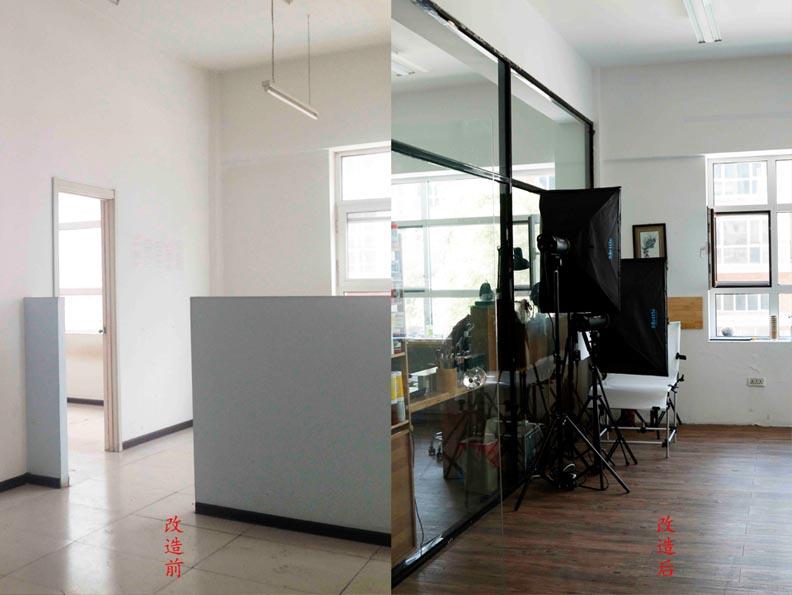 本次改造是好朋友的手工制作工作室,使用面积200平的两层门市,一楼70平,二楼130平。 按朋友对空间使用需求要有: 1.制作空间:至少2个 2.办公空间:满足至少6人的工作 3.会客空间:5人以上的喝茶聊天 4.客人休息空间:有能坐的地方 5.茶歇空间:可以做简单的饭菜,同时也可以满足开party的供茶点的需要。 6.