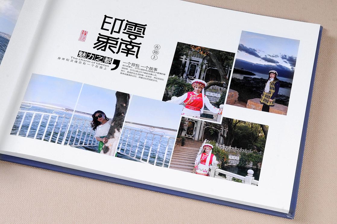 丽江旅游纪念册制作十四年经验 丽江相册设计制作公司图片