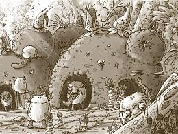 空想宇宙生物百科:毛咔咔人
