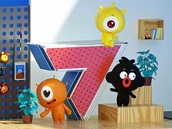 吉祥物形象三维化动态设计和延展设计