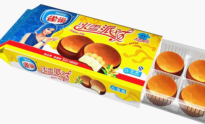雀巢冰淇淋包装设计