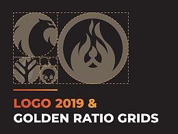 Logo Portfolio 2019 & Golden Ratio Grids