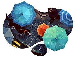 雨   伞