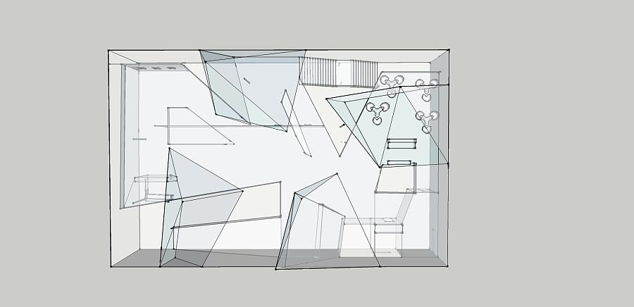 简易橱窗手绘图片