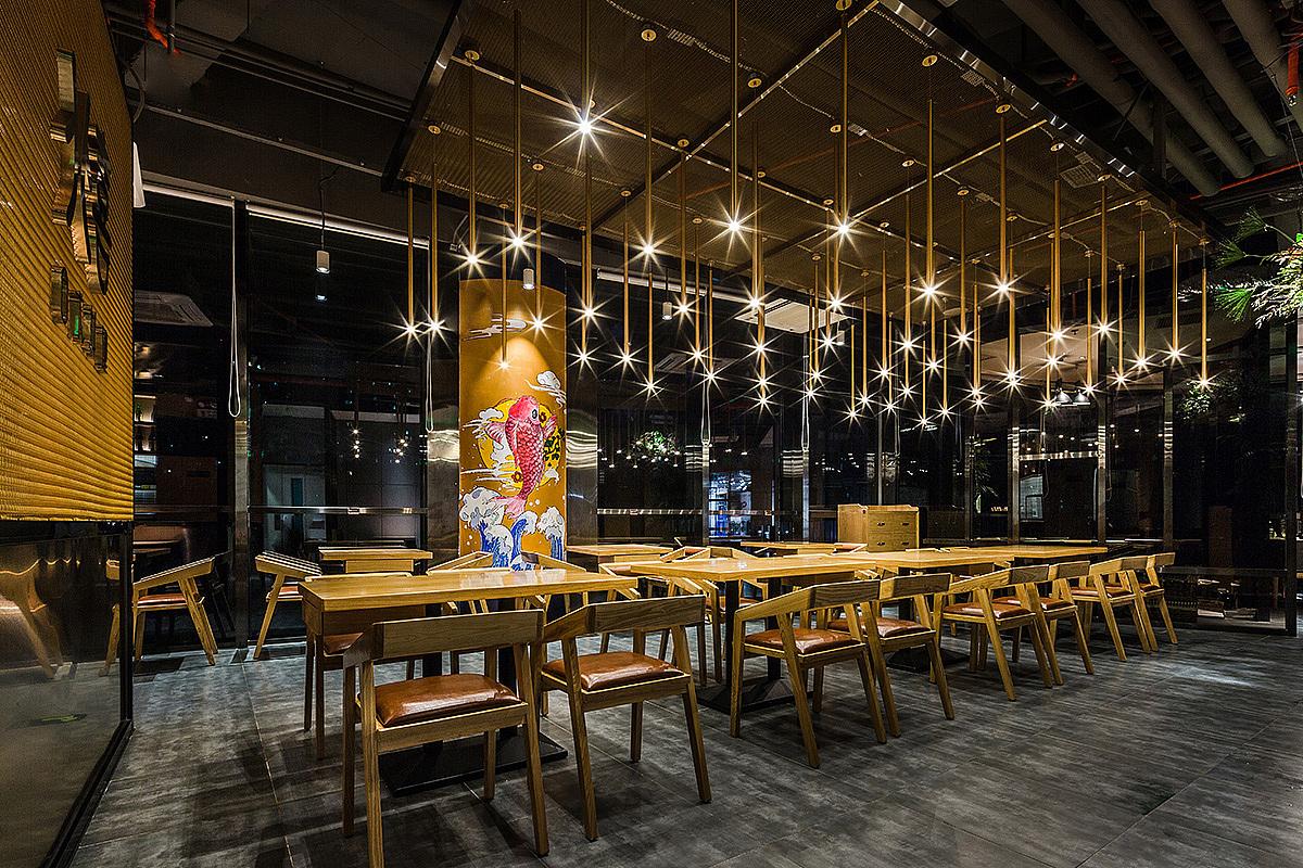异国料理店(日本) · 餐饮空间设计_北喜日料 北京店