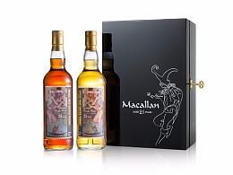 Macallan洋酒产品拍摄+精修 | 食摄集